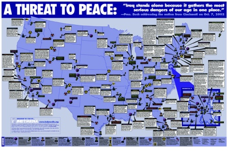 "The Indypendent, New York City ""Threat to Peace"" 2003"