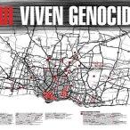"""Grupo de Arte Callejero """"Aqui Viven Genocidas"""" 2001"""